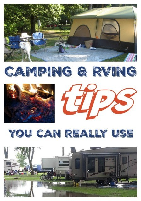 Camping and RVing Tips You Can Really Use. Travel Tips.
