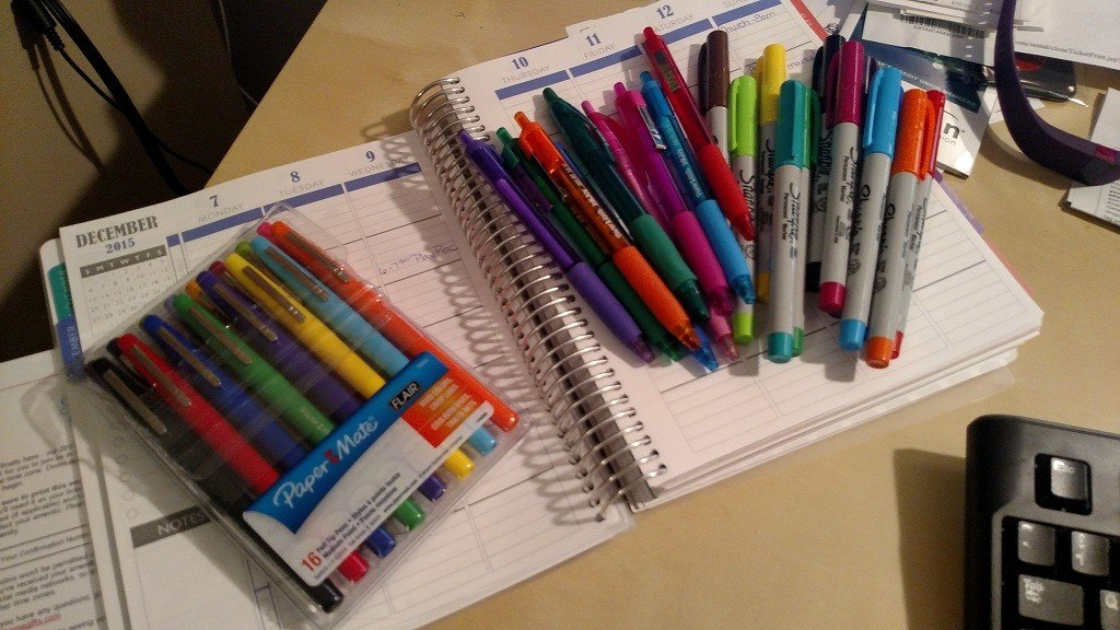 Morning Musings: on pens and paper