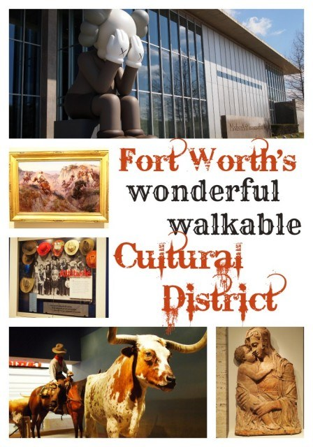 The Fort Worth Cultural District is the perfect place for families to explore art, science and history- all within a family friendly, walk-able area. Fort Worth, Texas | FamilyRambling.com