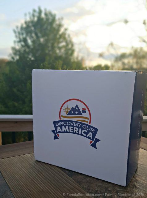 Discover Our America Subscription Box. A taste of each state- delivered monthly.