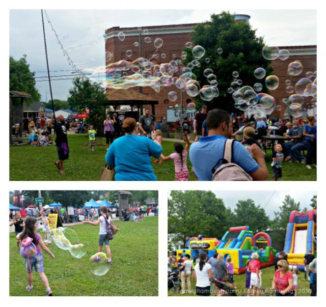 Lots of fun to be had at Homer Soda Festival! Homer, Illinois Midwest festival | Midwest travel tips | FamilyRambling.com