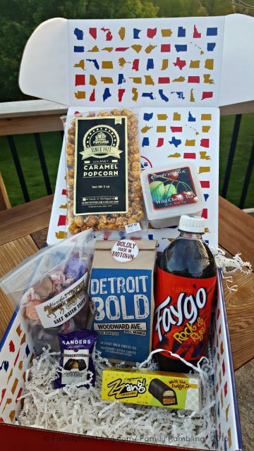 Michigan goodies! Discover Our America Subscription Box. A taste of each state- delivered monthly.