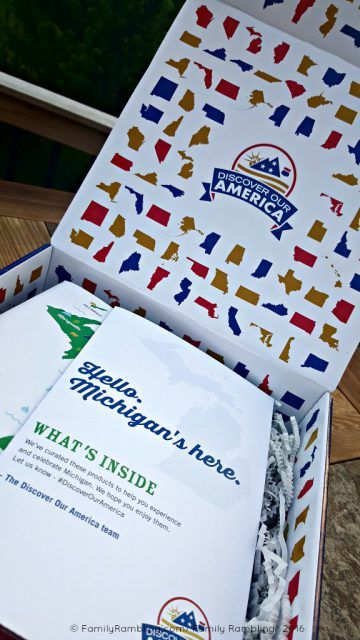 Discover Our America Subscription Box - Michigan! A taste of each state- delivered monthly.
