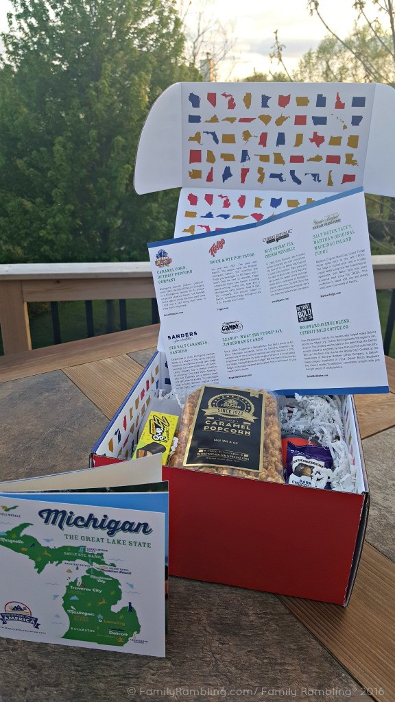 Taste the USA with Discover Our America Subscription Box