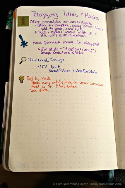 Bullet Journaling for list makers!