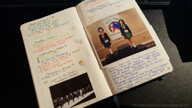 Bullet Journal Weekly Pages