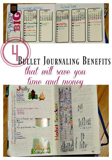 Bullet Journaling benefits