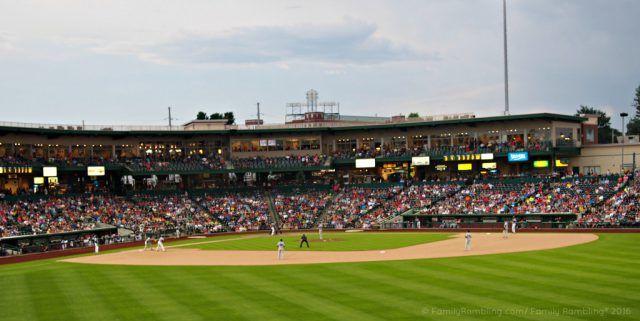 Tin Caps Baseball in Fort Wayne
