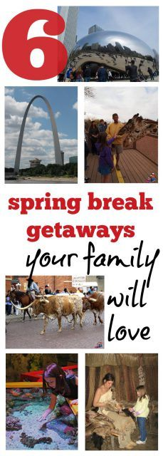 6 spring break getaways for families