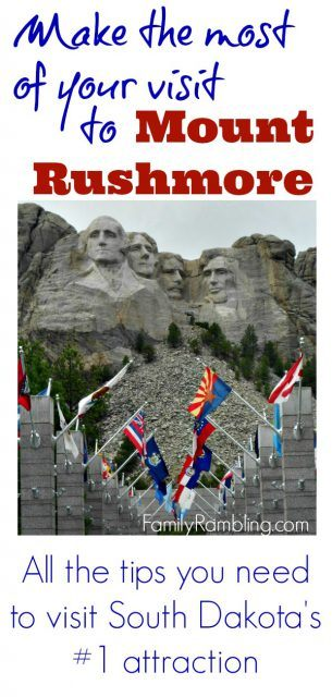 Mount Rushmore and Avenue of Flags