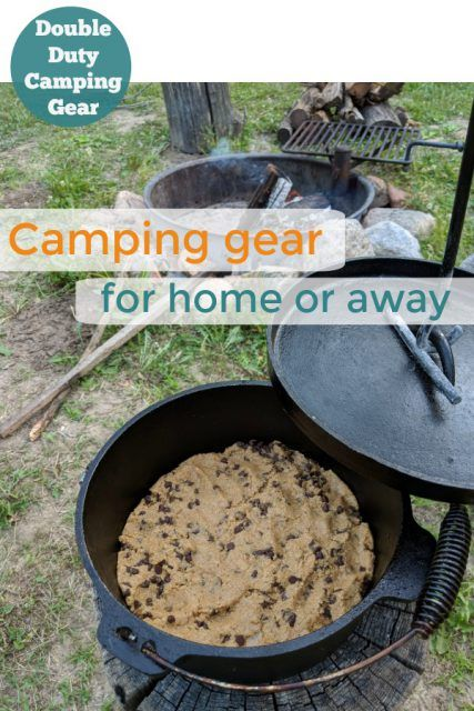 Dutch oven. camping tips.
