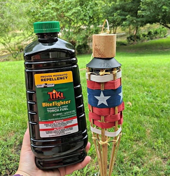 Tiki Torch and Bitefighter Fuel
