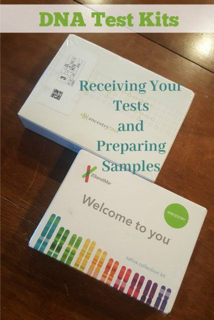 DNA Test Kits from AncestryDNA and 23andMe