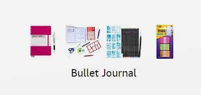 Recommended Bullet Journal Supplies
