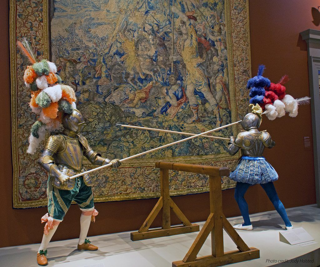 Arms and Armour at Art Institute of Chicago. Photo by Jody Halsted, Halsted Enterprises, Inc.