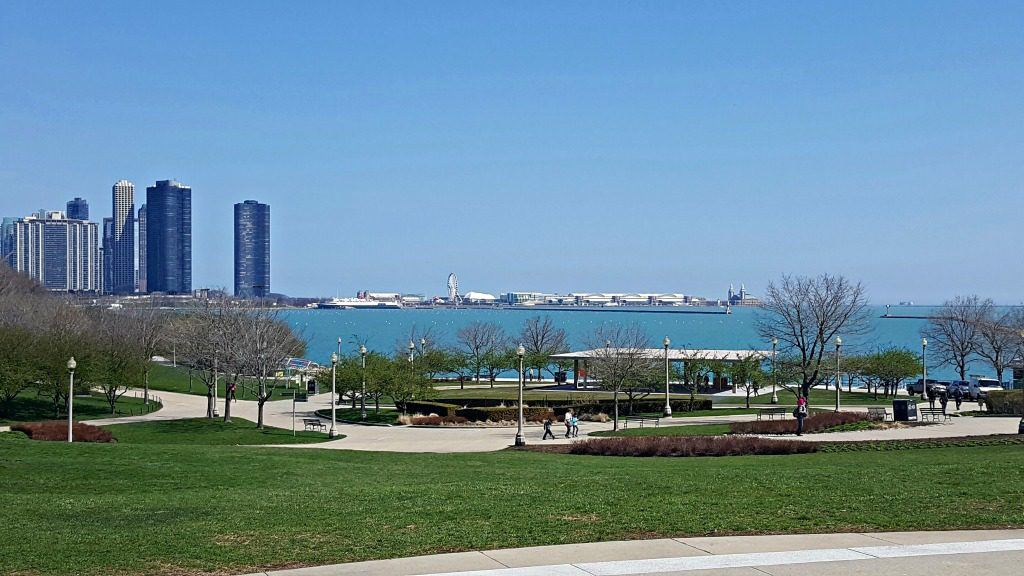 perfect spring day in Chicago. Photo by Jody Halsted, Halsted Enterprises, Inc.