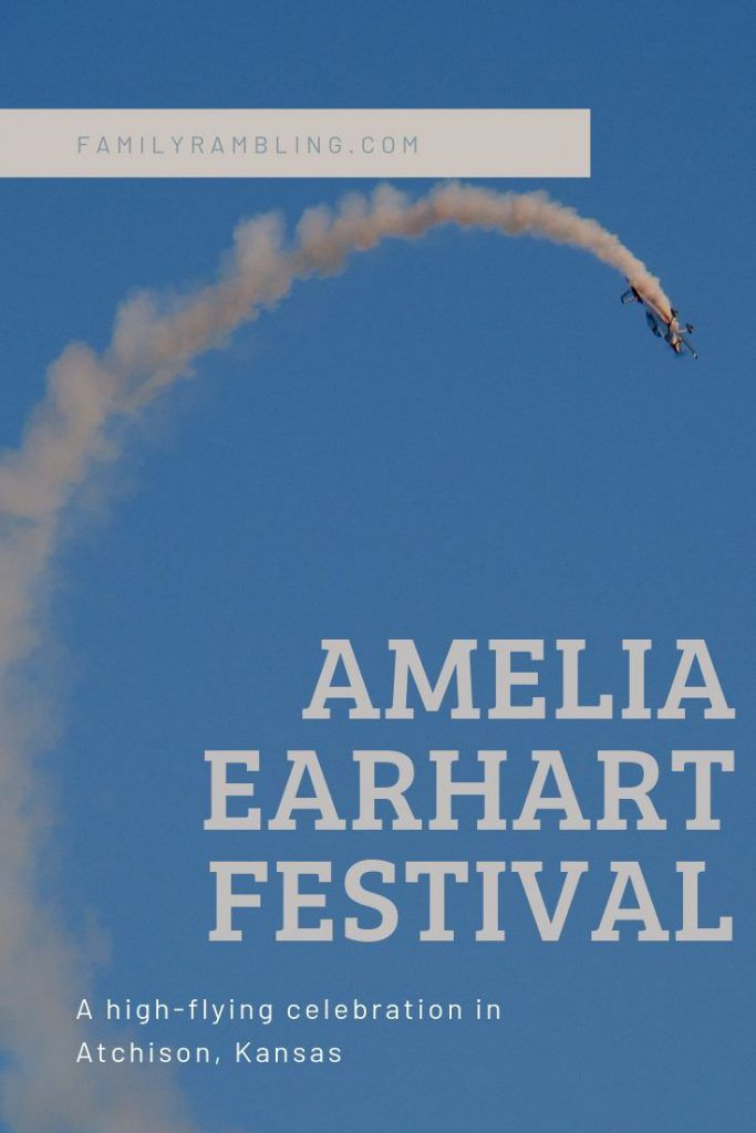 Amelia Earhart Festival in Atchison, Kansas