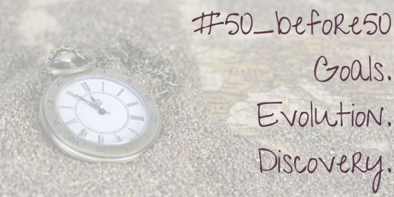 #50_before50 – What Does That Even Mean?