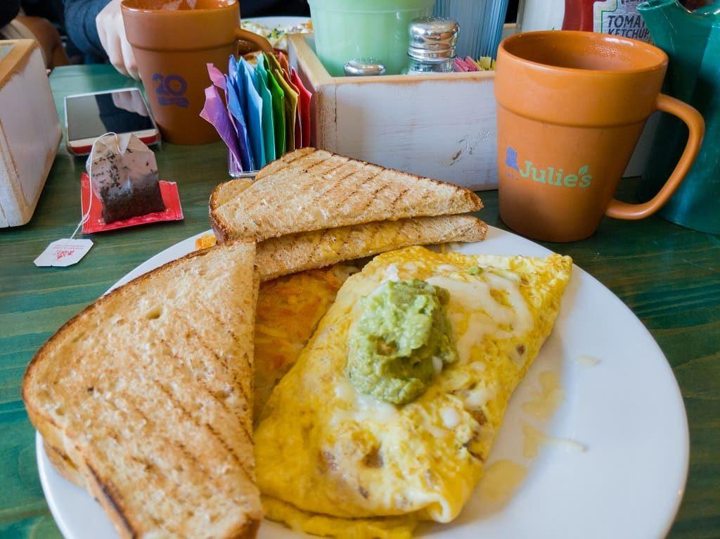 California-Chicken-Omlet-Julies-Park-Cafe-Door-County-Wisconsin