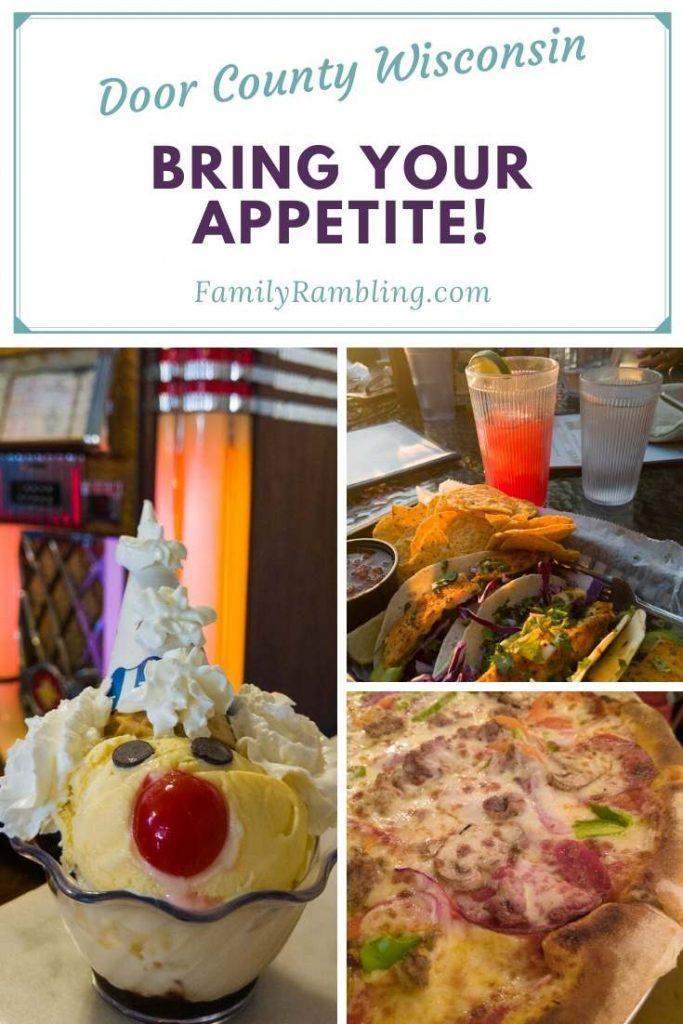 collage-Door-County-restaurants