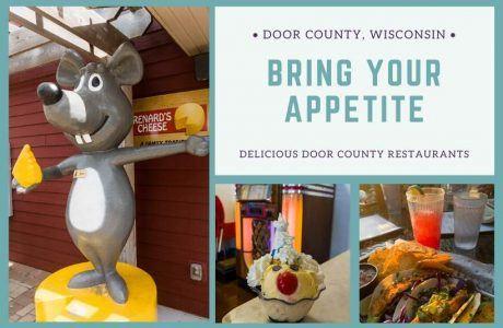 Door-County-Wisconsin-restaurants-collage