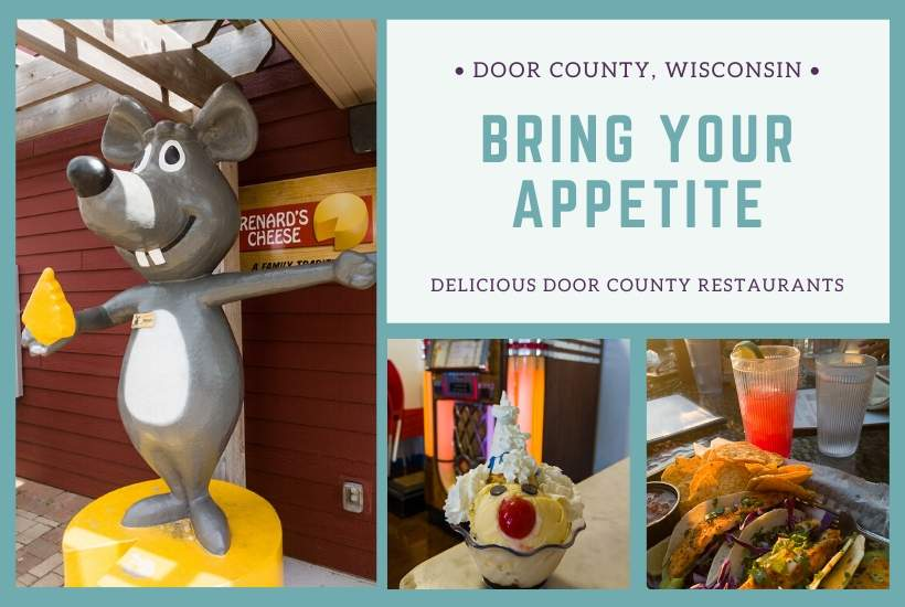 Door-County-Wisconsin-restaurants-collage