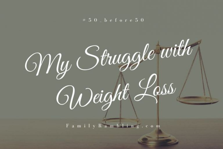 My Struggle with Weight Loss #50_before50
