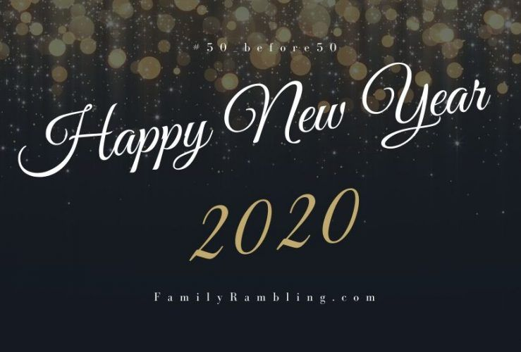 What's Your Goal for 2020? #50_before50