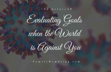 Evaluating goals #50_before50