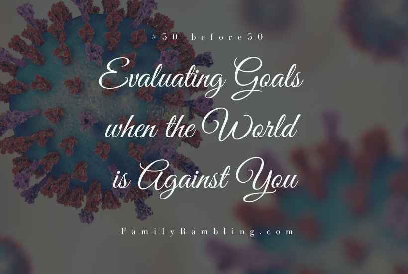 Evaluating goals #50_before50