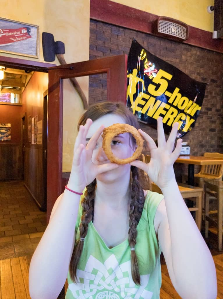 big onion ring _ Wobbly Boots BBQ _ Lake of the Ozarks _ Missouri
