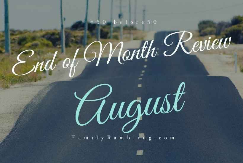August goal review #50_before50