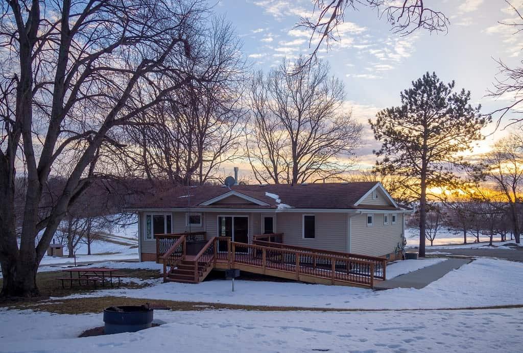 Modern Cabin Thomas Mitchell Park Polk County IA