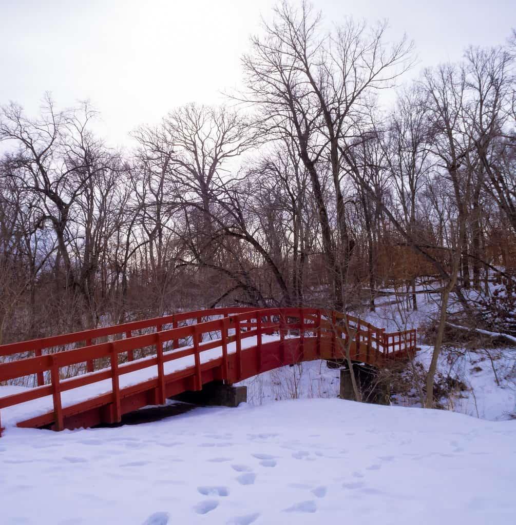 bridge Thomas Mitchell Park Polk County IA