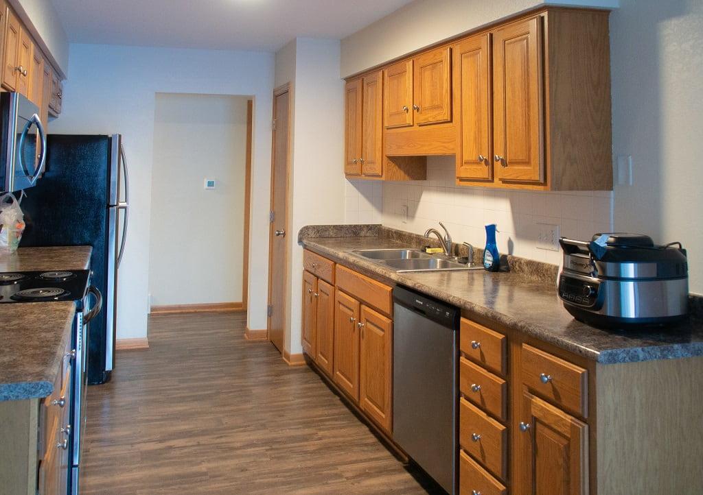 kitchen Thomas Mitchell Park cabin