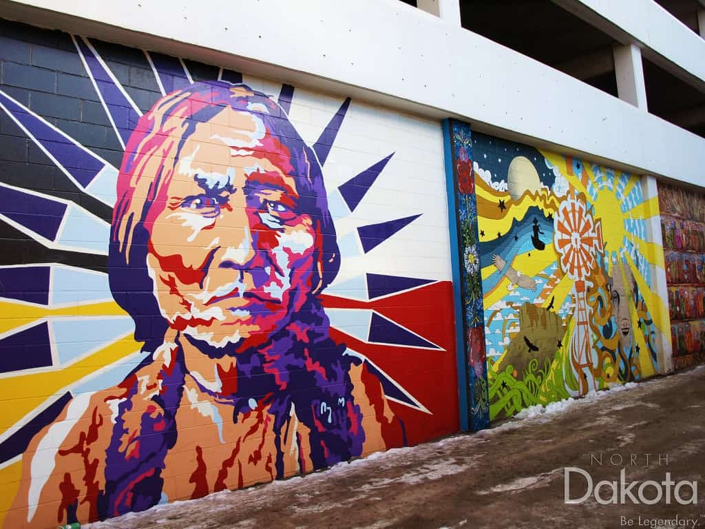 murals photo courtesy of ND Tourism