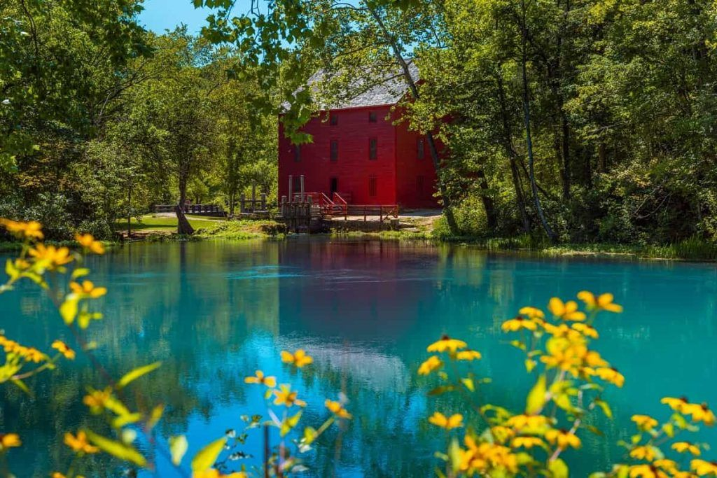 Alley Spring and Grist Mill, Eminence, Missouri