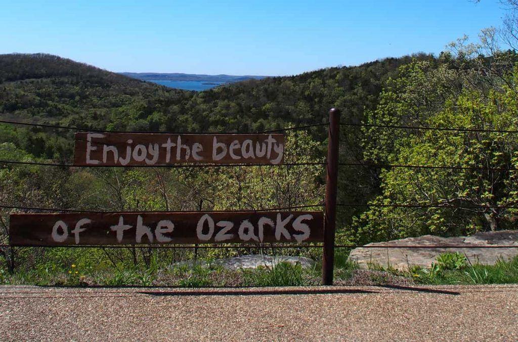 beauty of the Ozarks near Branson Missouri