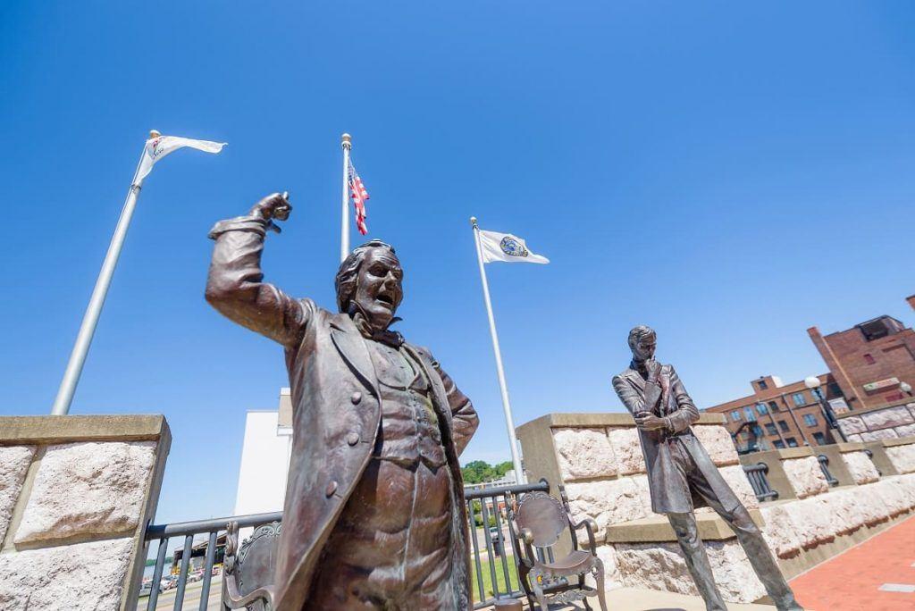 Lincoln Douglas Debate site, Alton, IL