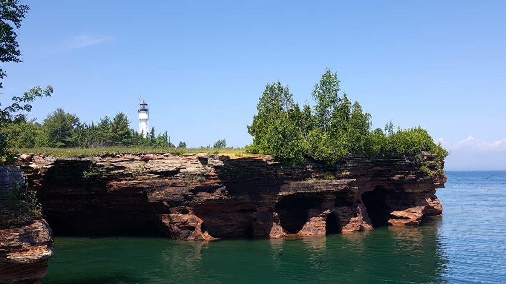 lighthouse_Apostle Islands National Lakeshore_Wisconsin
