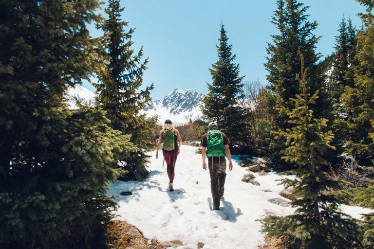 All my recommendations for hiking through snow