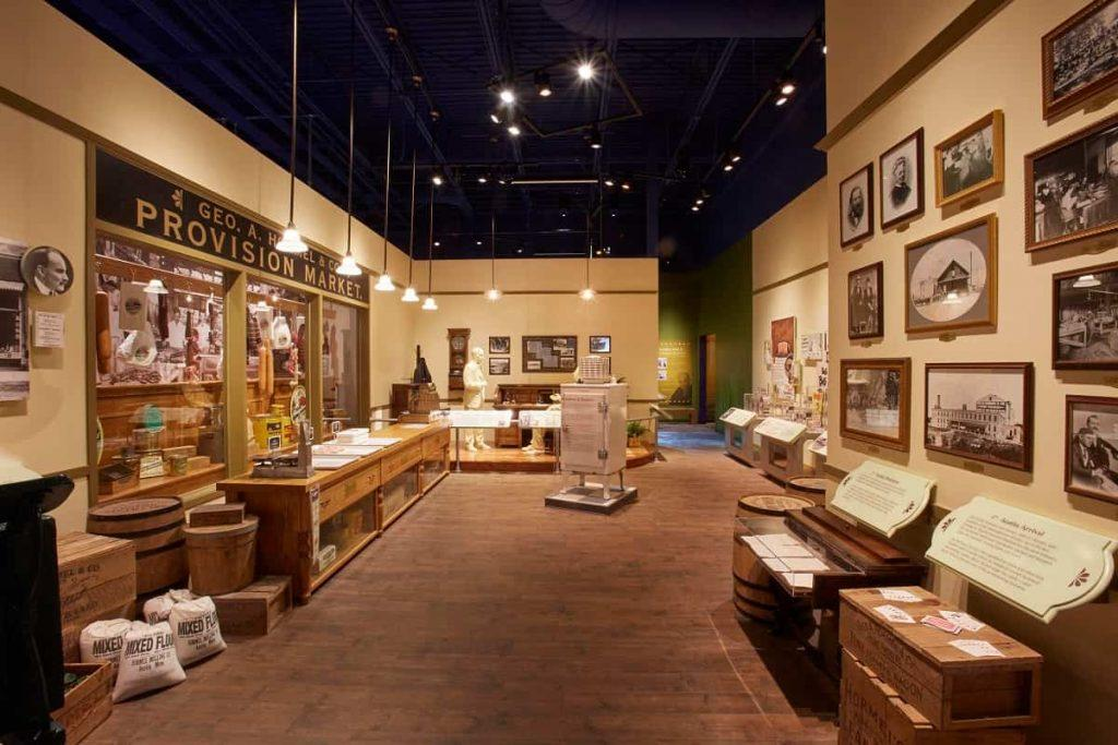 SPAM_museum_Austin_ Minnesota_Hormel_Provision_Market display