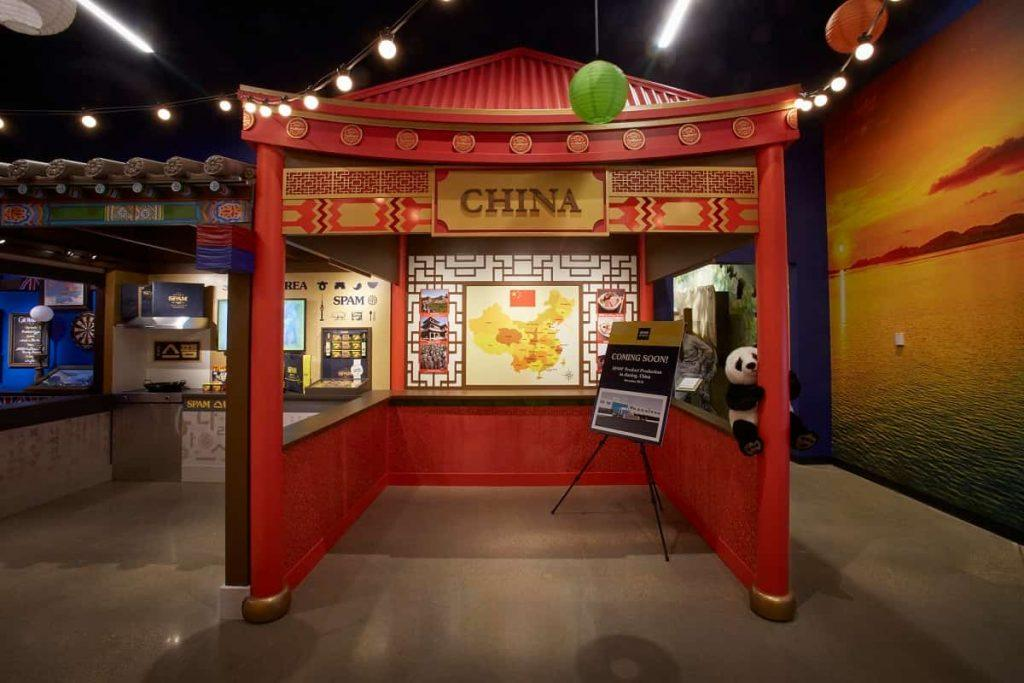 SPAM_museum_Austin_ Minnesota_SPAM_around_the_world_display