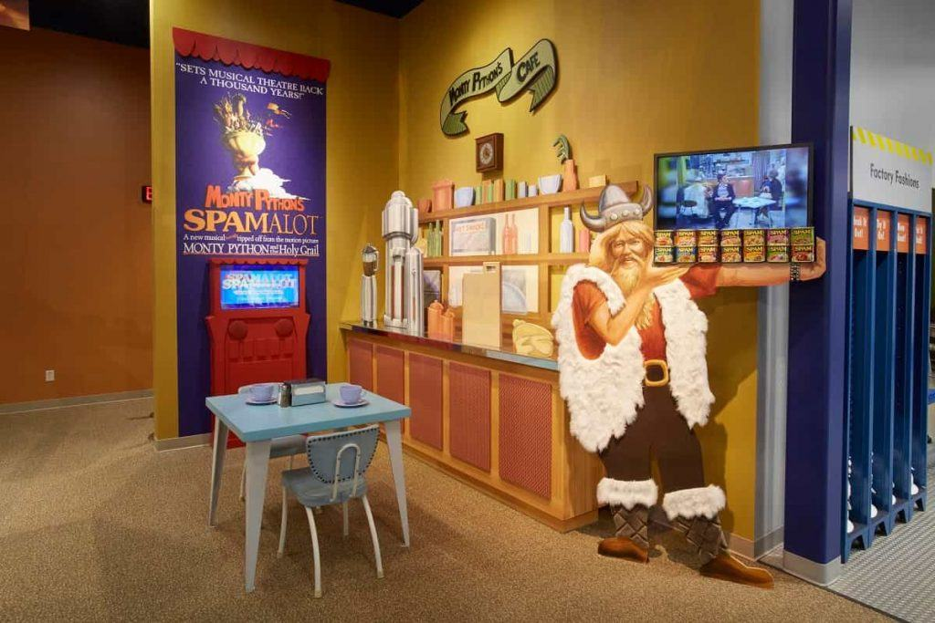 SPAM_museum_Austin_ Minnesota_SPAMalot_display