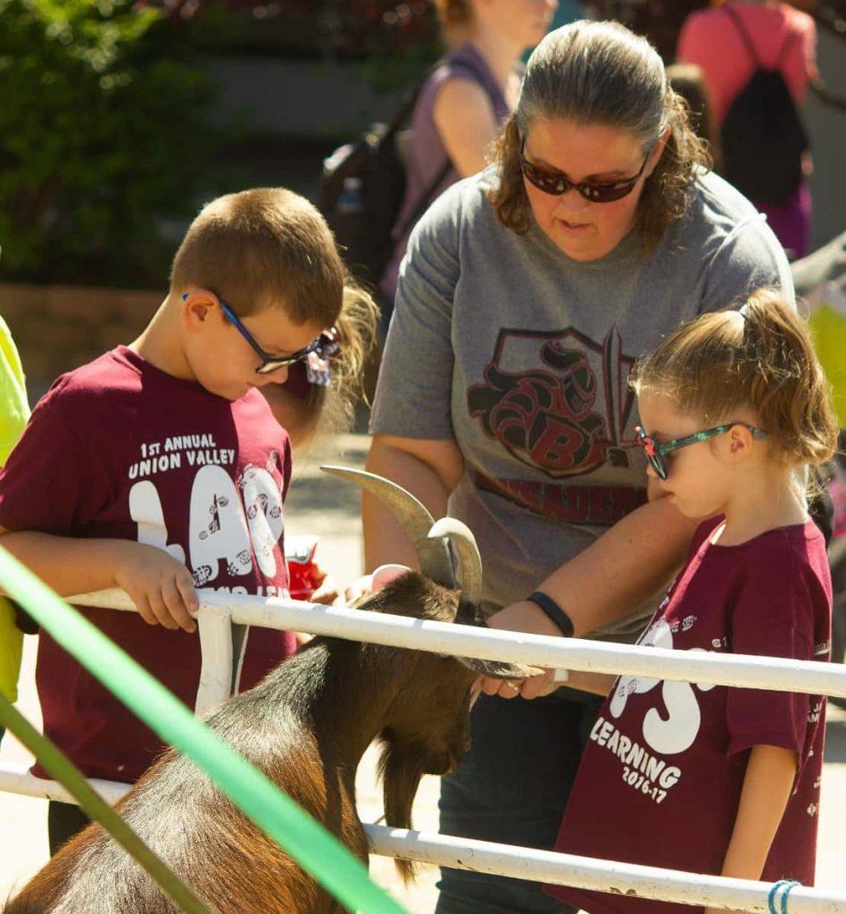 petting goat Kansas State Fair